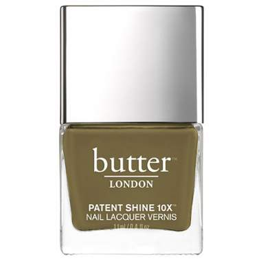 Butter London Patent Shine 10X Nail Polish - British Khaki