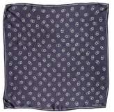 Ralph Lauren Geometric Print Silk Scarf