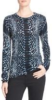 Equipment Women's Sloane Print Cashmere Sweater