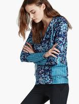Lucky Brand Vinyasa Floral Jacket