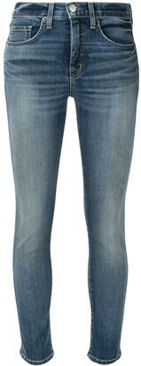 Nili Lotan High-Waisted Skinny Jeans
