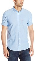 Levi's Men's Darox Short-Sleeve Solid Oxford Shirt