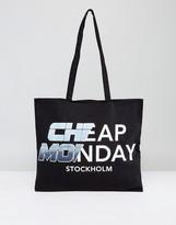Cheap Monday Logo Tote Bag