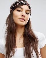 Asos Floral Turban Headband