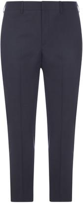 Neil Barrett Stretch Wool-blend Trousers