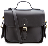 The Cambridge Satchel Company Women's Large Traveller Bag with Side Pockets Black