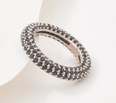 Diamonique x Courtney Cason Endless Pave Eternity Band Ring, Sterling