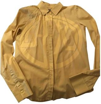 Emporio Armani \N Yellow Cotton Top for Women