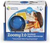 Learning Resources Zoomy 2.0 Handheld Microscope - Blue
