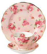 Royal Albert 100 Years Rose Blush Three Piece Set