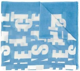 Iris von Arnim printed cashmere scarf