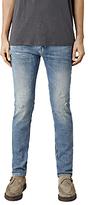 Allsaints Allsaints Husk Cigarette Skinny Jeans, Bleached Indigo Blue