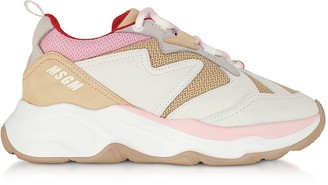 MSGM Nude Attack Sneakers