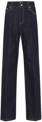 Chloé High-rise straight jeans