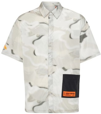 Heron Preston Camo shirt
