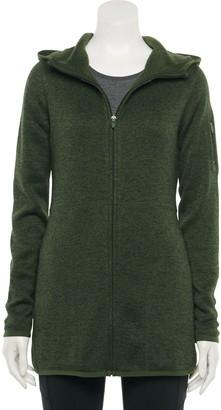 Tek Gear Women's Hooded Sweater Fleece Jacket