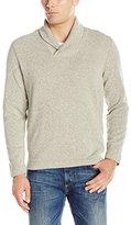 Van Heusen Men's Solid Shawl Collar Sweater Fleece