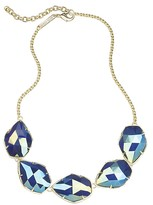 Kendra Scott Connely Necklace in Iridescent Cobalt