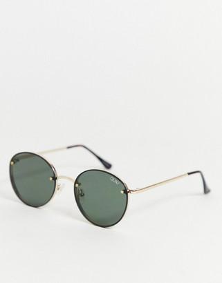 Farah sunglasses in gold
