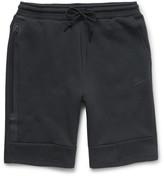 Nike Mesh-Print Tech Fleece Shorts