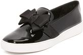 Michael Kors Val Bow Slip On Sneakers