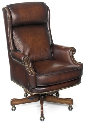 Hooker Furniture James River Genuine Leather Executive Chair