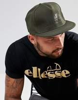 Ellesse Snapback Cap With Tonal Logo In Green