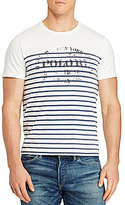 Polo Ralph Lauren Big & Tall Graphic Striped Short-Sleeve Tee