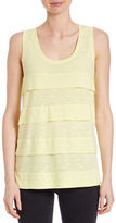 Lord & Taylor Ruffled Tier Tank Top