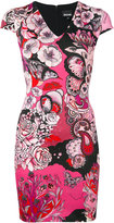 Just Cavalli floral print dress - women - Polyamide/Spandex/Elastane/Viscose - 38