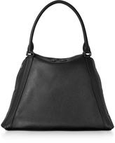 Akris M Aimee Black Leather Satchel Bag