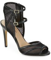 Saks Fifth Avenue Riva Double-Strap Mesh Sandals