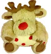Beansprout Bean Sprout Plush Reindeer Toy & Plush Baby Blanket Toddler Set