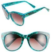 Oscar de la Renta 54mm Cat Eye Sunglasses