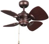 "Kendal Lighting Aires 24"" Copper Bronze Ceiling Fan"