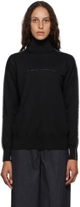 MM6 MAISON MARGIELA Black Cashmere Turtleneck