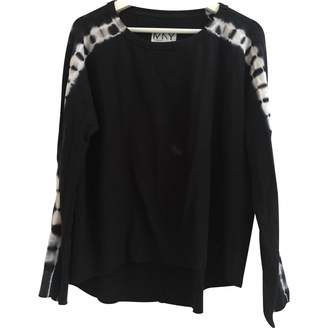 Andrew Marc Black Cotton Top for Women