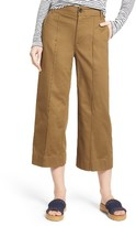 Madewell Women's Langford Crop Wide Leg Pants