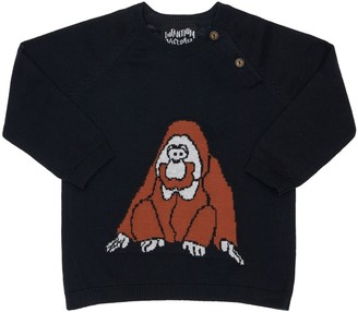 Infantium Victoria Orangutan Organic Cotton Knit Sweater