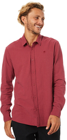 Swell Culture Ls Shirt Red