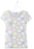 Kenzo logo print T-shirt - kids - Cotton/Spandex/Elastane - 14 yrs
