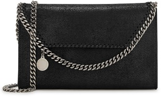 Stella McCartney Falabella mini black cross-body bag