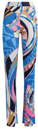 Emilio Pucci Wally Wide-Leg Trousers