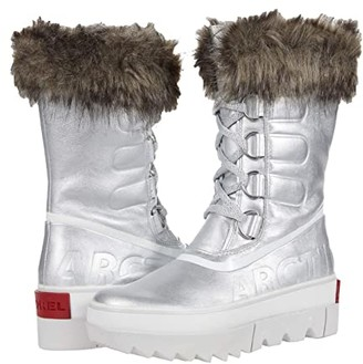 Sorel Joan Of Arctic Next (Pure Silver) Women's Cold Weather Boots