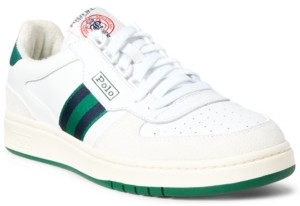 Polo Ralph Lauren Men's Polo Court Sneakers Men's Shoes