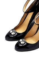 Forest of Chintz Black LiBellule Shoe Clips