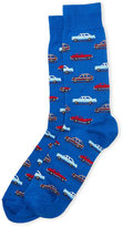 Hot Sox Vintage Cars Crew Socks