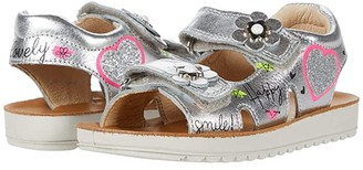 Naturino Neco SS20 (Toddler/Little Kid) (Silver) Girl's Shoes