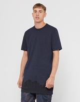 G Star G-Star Occotis Crowd Long Sleeve T-Shirt Navy