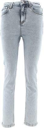 MSGM Logo Skinny Denim Jeans